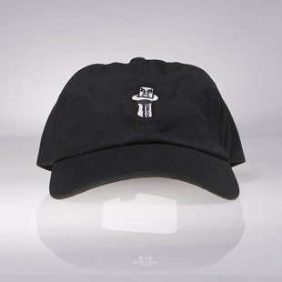 Obey Illusion 6 Panel Hat black