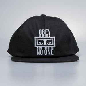 Obey No One Snapback black
