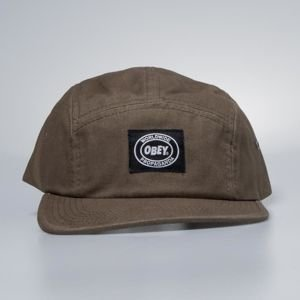 Obey Onset 5 Panel Cap army