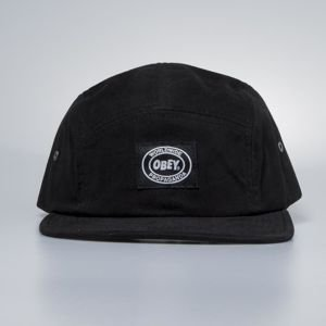 Obey Onset 5 Panel Cap black