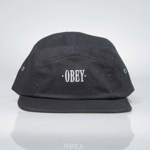Obey Sonora 5 Panel Cap black