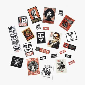 Obey Sticker Set #3 multicolor