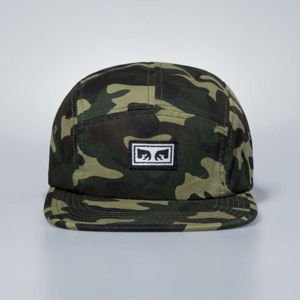 Obey Subversion 5 Panel Hat field camo