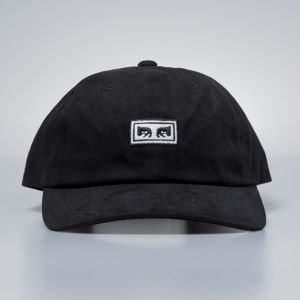 Obey Subversion 6 Panel Snapback black