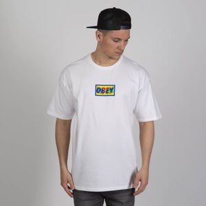 Obey T-shirt Transparent Obey white