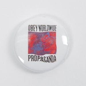 Obey Worldwide Propaganda Pin