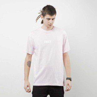Obey t-shirt Obey Jumbled pink