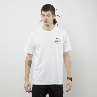 Obey t-shirt Obey Nautical Flag white