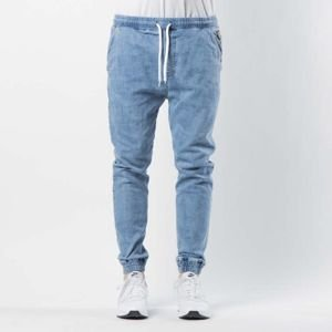 Pants Mass Denim Joggers Jeans Sneaker Fit Campus light blue
