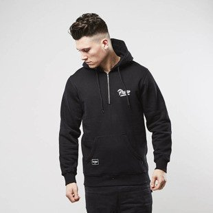 Phenotype sweatshirt 1/4 Zippers Hoodie black