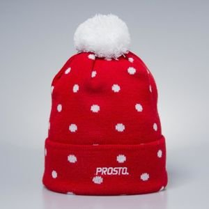 Prosto Klasyk winter cap Snow red