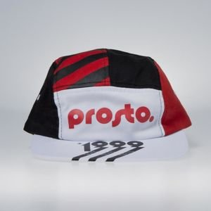 Prosto cap 5-panel Bauhaus Stripes multicolor