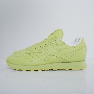 Reebok Classic Leather Spirit x FACE Stockholm authentic / white / energy (V69387)