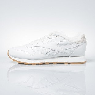 Reebok WMNS Classic Leather Sherpa chalk / paperwhite / gum (BD1283)