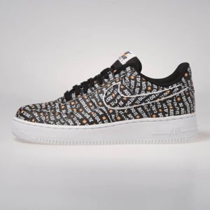 Sneakers Nike Air Force 1 '07 LV8 JDI black/black-white-total orange (AO6296-001)