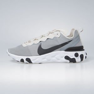 Sneakers Nike React Element 55 lt orewood brn / black-white (BQ6166-100)
