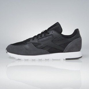 Sneakers Reebok Classic Leather MO black / coal / white / skull grey BS5146