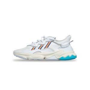 Sneakers WMNS Adidas Originals Ozweego cloud white/signal coral/blue glow (EF4290)