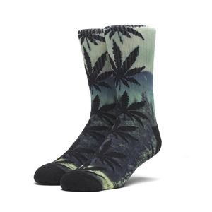 Socks HUF Digital Plantlife Crew Sock - evergreen