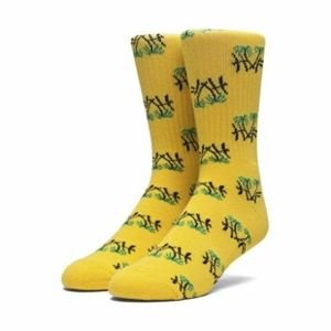 Socks HUF Kingston Crew Sock yellow