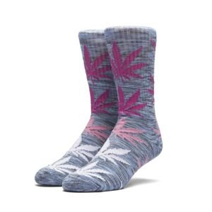 Socks HUF Melange Plantlife Crew Sock blue