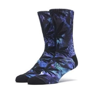 Socks HUF Outdoors Digital Plantlife Crew Sock purple
