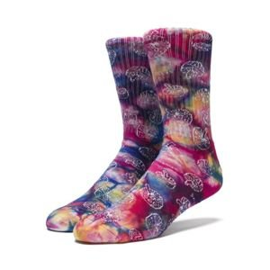 Socks HUF Shrooms Crew Socks multi