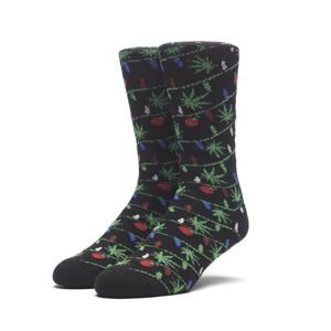 Socks HUF Tinsel Plantlife Sock - grey / black
