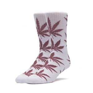 Socks HUF Tinsel Plantlife Sock - white / red