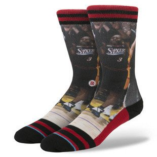 Stance socks A. Iverson 2 red M3150AI2