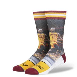 Stance socks King James yellow M528D15KJA