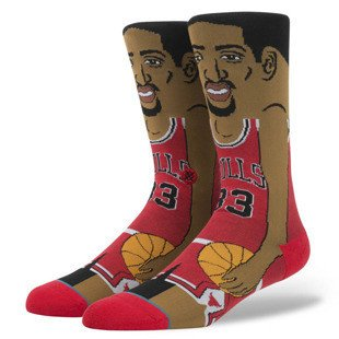 Stance socks S. Pippen red M545C16SPI