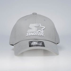 Starter snapback Icon 2K Stretch Fit Pitcher Cap grey / white