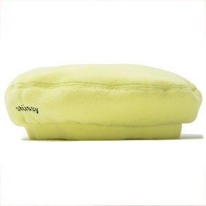 Stussy Bristol Polar Fleece Beret lemon