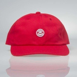 Stussy Contrast Strapback Cap red