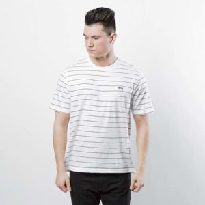 Stussy Mini Stripe Jersey white