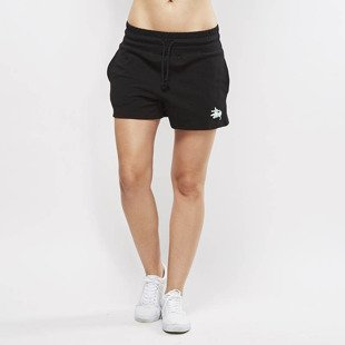 Stussy Puff Stock Gym Shorts black WMNS