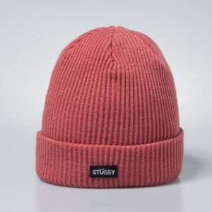 Stussy Small Patch Watch Cap Beanie rose