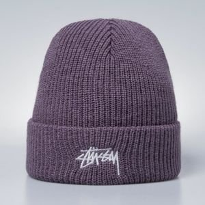 Stussy Stock HO17 Cuff Beanie lavender