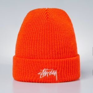Stussy Stock HO17 Cuff Beanie orange