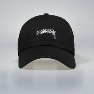 Stussy Stock Low Pro Trucker Cap black