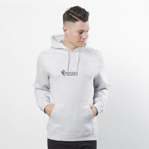 Stussy Sweatshirt Batterfly App. Hood grey heather