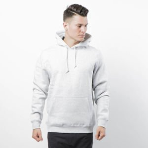 Stussy Sweatshirt Smooth Stock APP. Hood grey heather