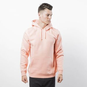 Stussy Sweatshirt Smooth Stock APP. Hood salmon