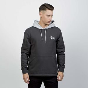 Stussy Sweatshirt Two Tone Hood black
