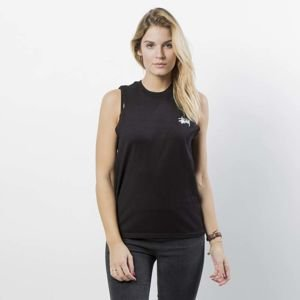 Stussy Tank Top Basic Stussy Raw Muscle Tee WMNS black