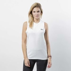 Stussy Tank Top Basic Stussy Raw Muscle Tee WMNS white