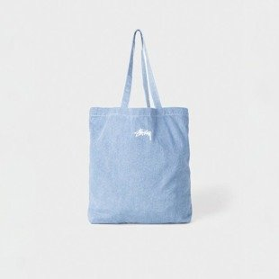 Stussy Vernon Tote Bag blue denim