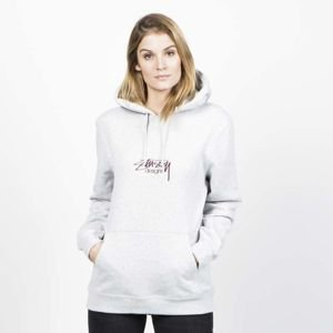 Stussy WMNS Sweatshirt Design App. Hood grey heather