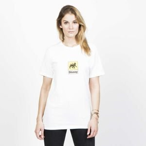Stussy WMNS t-shirt Leone Tee white